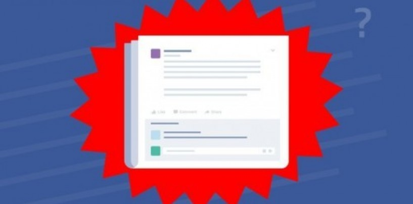 Facebook changes feed to push real news over fake and sensational