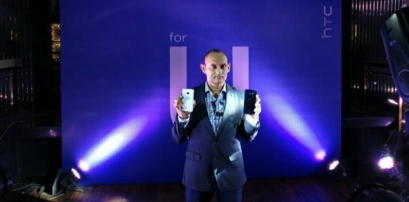 HTC launches premium smartphones, U Play and U Ultra in India