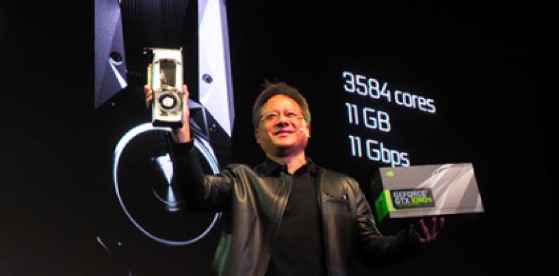 NVIDIA unveils world's fastest gaming GPU, GeForce GTX 1080 Ti