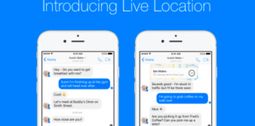 Facebook Messenger enables private live location sharing just like Google