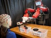 MIT introduces Baxter, a brain-controlled robot