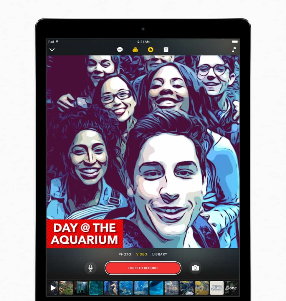 CIOL Apple launches red iPhone 7, $300 iPad and a video editing app, Clips
