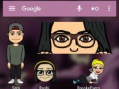 Snapchat releases Android-only update featuring Bitmoji