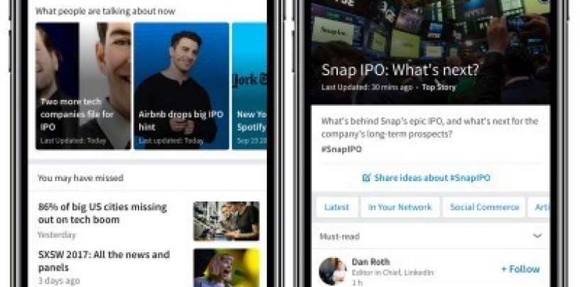 LinkedIn introduces Trending Storylines to keep professionals hooked