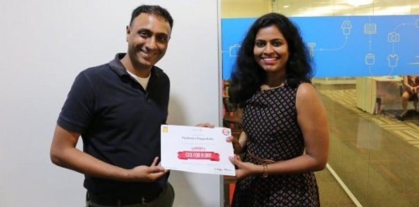 Padmini Pagadala, who became Flipkart's CEO for a day