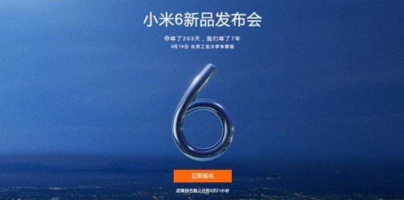 New leaks reveal key details about Xiaomi Mi 6 and Mi 6 Plus