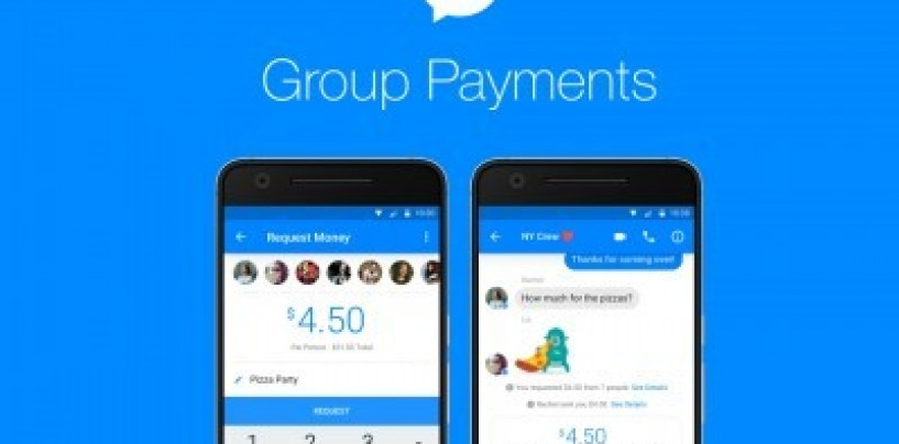 Facebook Messenger expands its payment feature to groups