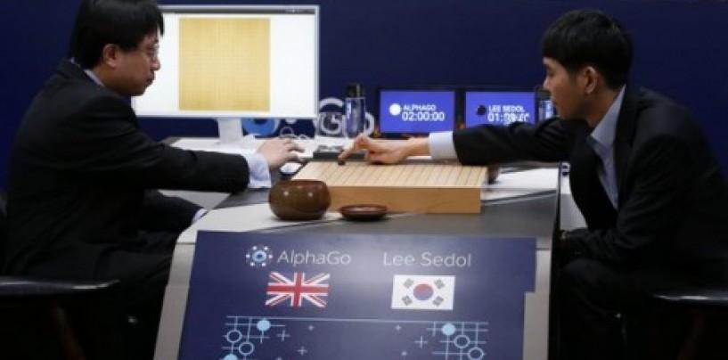 Google's AlphaGo AI beats the world's best human Go player