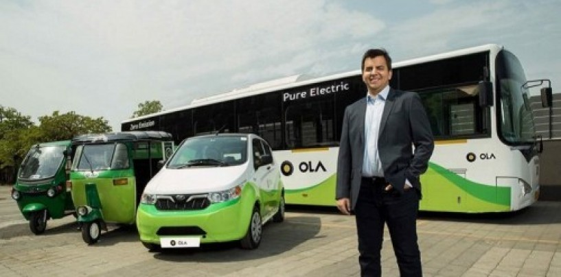 Ola and Mahindra join hands to promote electric mobility