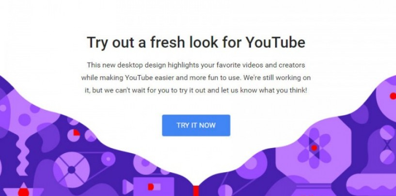 YouTube's desktop website gets a makeover with new design, dark theme and more