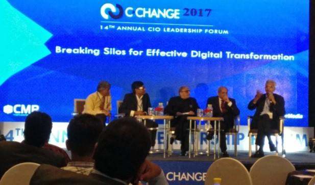 CIOL C-CHANGE 2017: Breaking silos for effective digital transformation