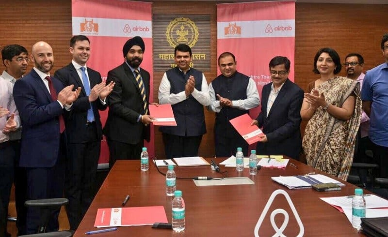 CIOL Airbnb inks first-ever revenue sharing agreement with the Maharashtra govt