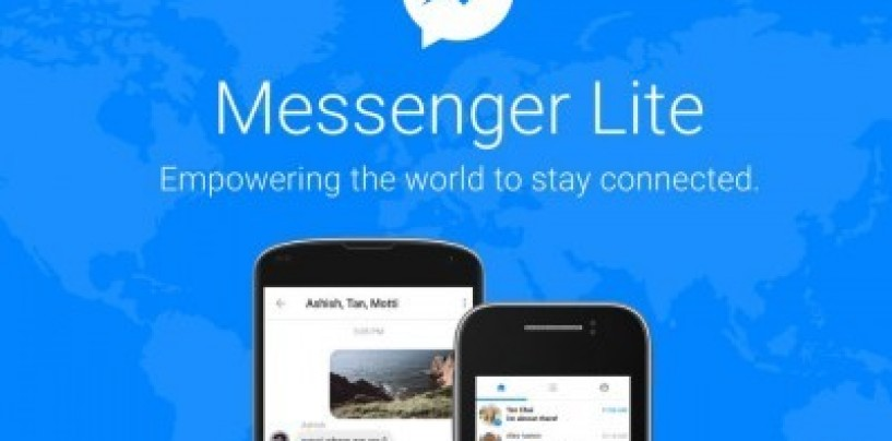 Facebook expands Messenger Lite to the US, UK and other countries