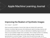Apple launches an online journal focused on machine learning