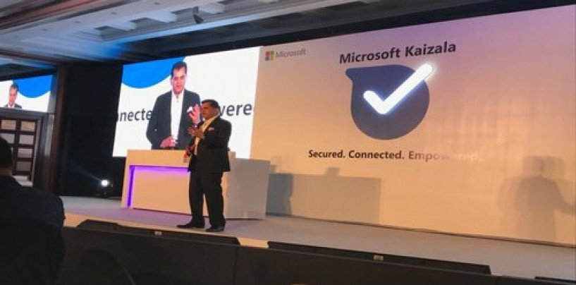 Microsoft rolls out Kaizala, a 'made for India' chat application