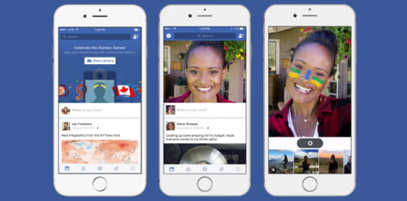 Facebook's new feature lets you create your own animated GIF image