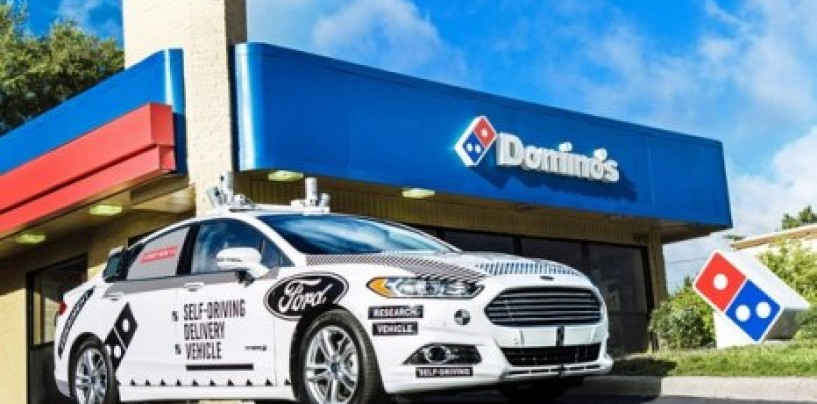 Ford and Domino's are testing self-driving pizza delivery in Michigan