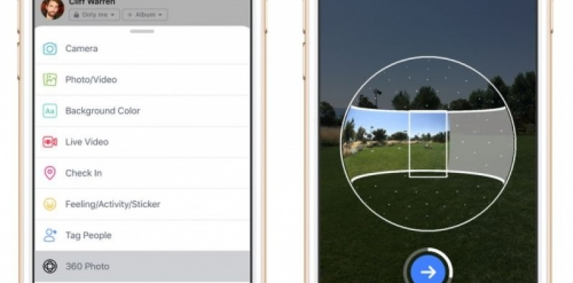 Facebook to use AI to correct your 360 degree photos