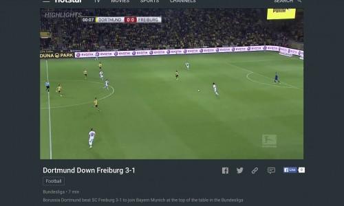 CIOL Hotstar online streaming football matches