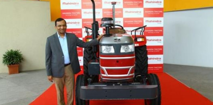 Mahindra & Mahindra unveils India's first driverless tractor