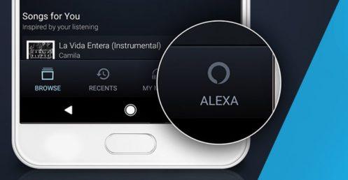 Amazon adds Alexa support to its Amazon Music app