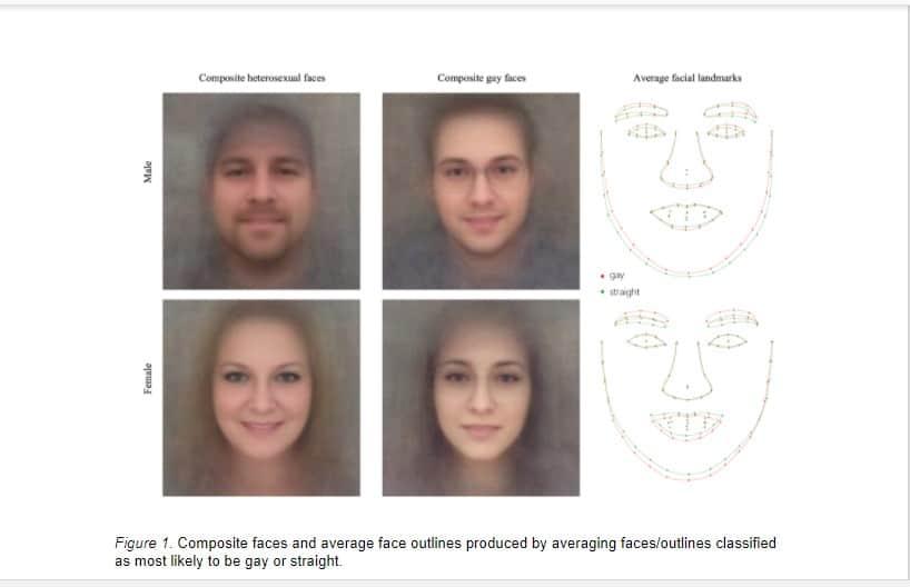 AI facial features