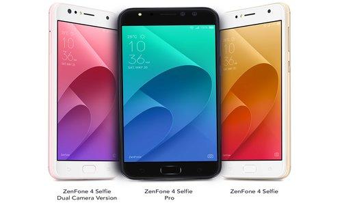 ASUS launches 3 selfie-focussed mobile phones for India