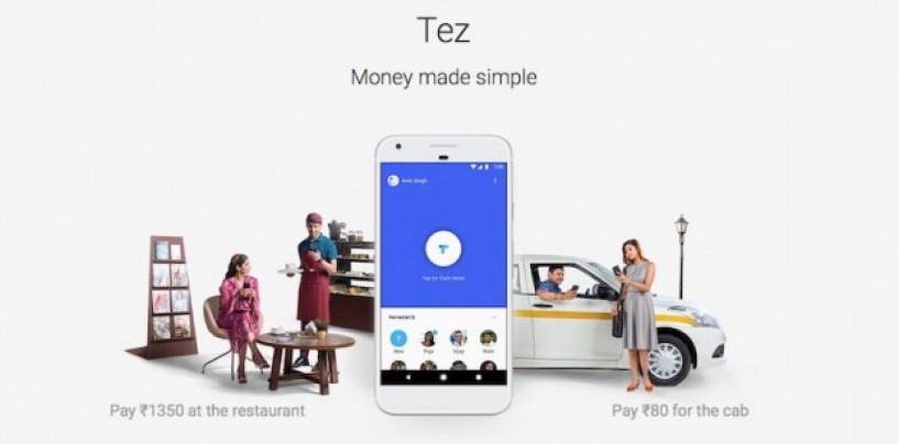 Google launches UPI-enabled digital payment app Tez in India