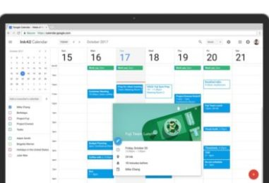 Google Calendar on the web gets new look and features