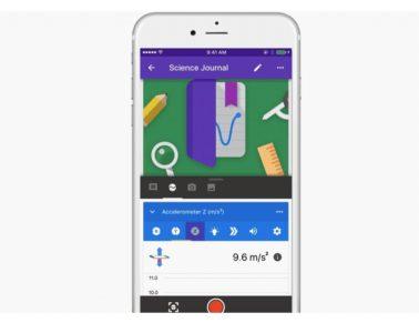Google revamps Science Journal app