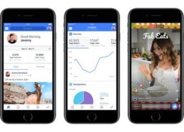 Facebook launches Creators app to promote video content