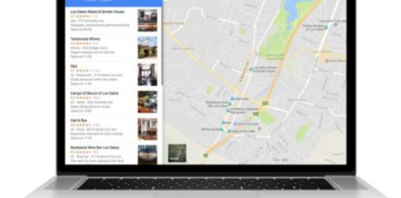 Google Maps enables creating and sharing list of places from desktop
