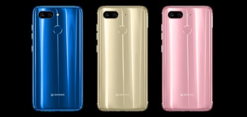 Gionee launches eight smartphones