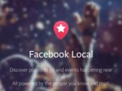 Facebook relaunches its standalone Events app as 'Facebook Local'