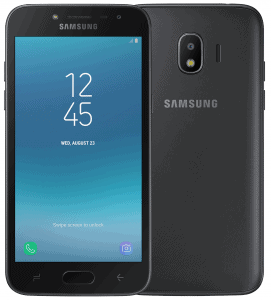 Samsung Galaxy J2(2018) listed online by retailer in Russia