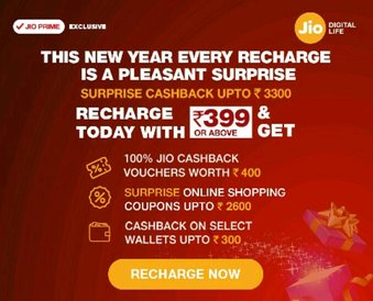 RJio launches 'Surprise Cashback' offer upto Rs 3,300 for Prime subscribers