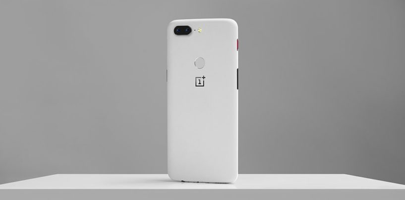 OnePlus 5T Sandstone White variant launched in the US