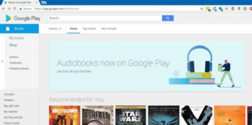 Google Play rolls out new features for audiobooks