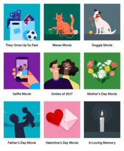 Google Photos turns your photos into themed videos