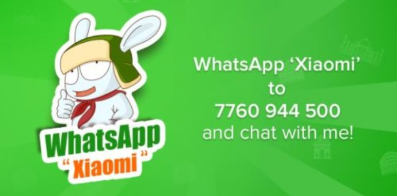 Xiaomi India launches WhatsApp-based service, Mi Bunny for fans
