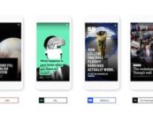 """Google launches """"AMP Stories"""", much like the stories on Snapchat and Instagram"""