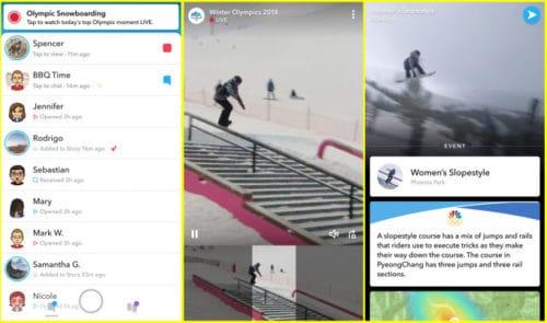 Snapchat will stream key moments from 2018 Winter Olympics