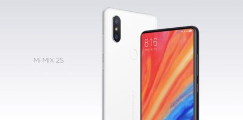 Xiaomi Mi Mix 2S has a familiar design with new processor