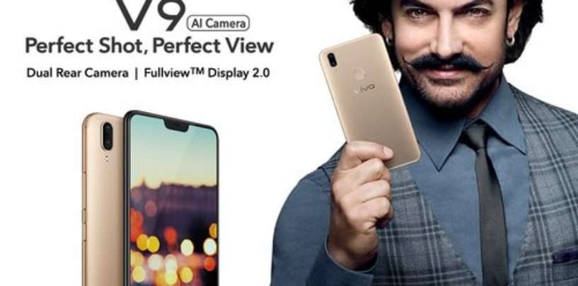 iPhone X look-alike Vivo V9 launched for Rs 22,990