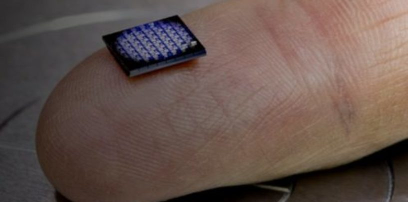 IBM unveils a computer smaller than even a grain of salt