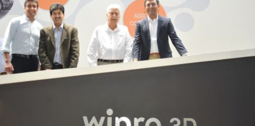 Wipro opens solution and experience center in Bangalore for metal 3D printing