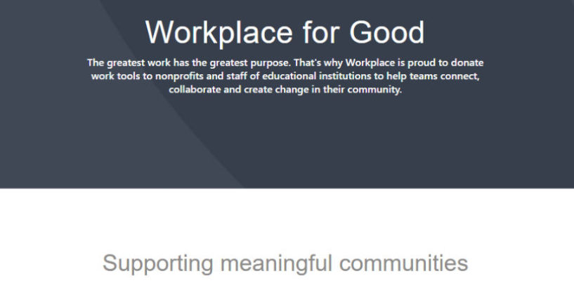 Building Meaningful Communities with Workplace for Good