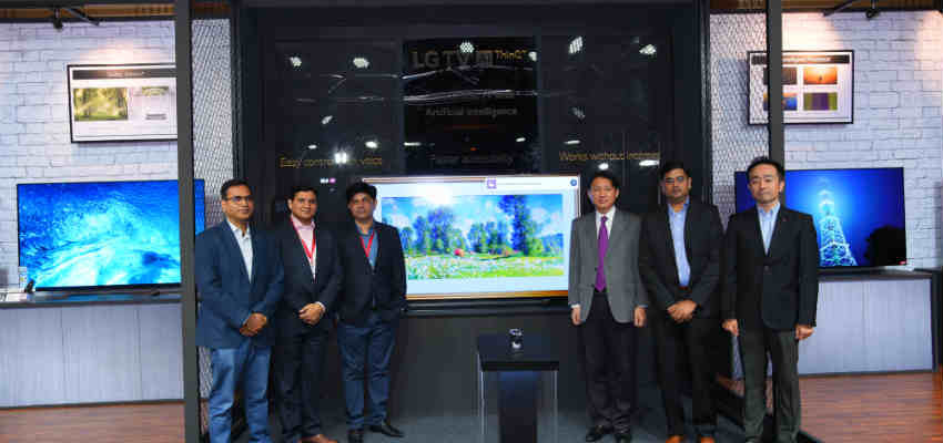 LG Brings India's First Smart TV with Artificial