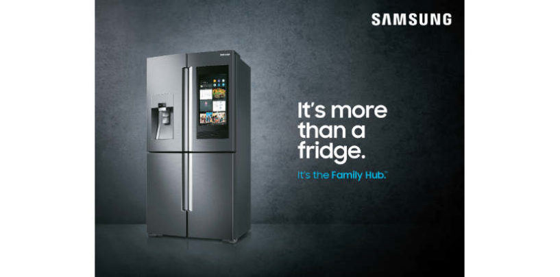 Samsung Family Hub: Next-gen Connected Smart Refrigerator
