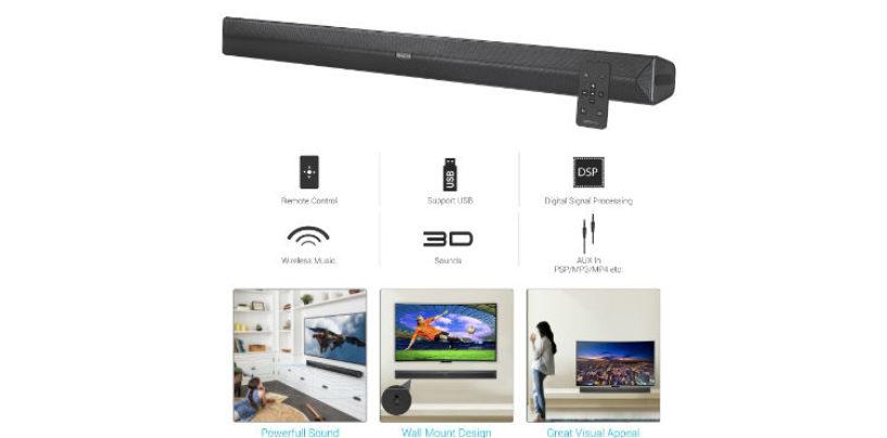 "Portronics Unveils Versatile and Powerful Multimedia Soundbar ""Sound Slick II"""